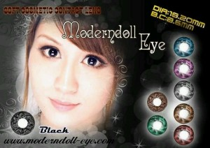Modern Doll Eye black 18.2mm