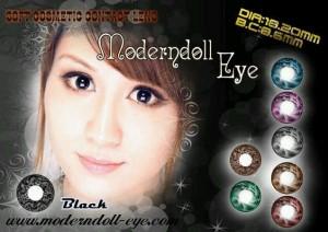 Modern Doll Eye black 18.2mm