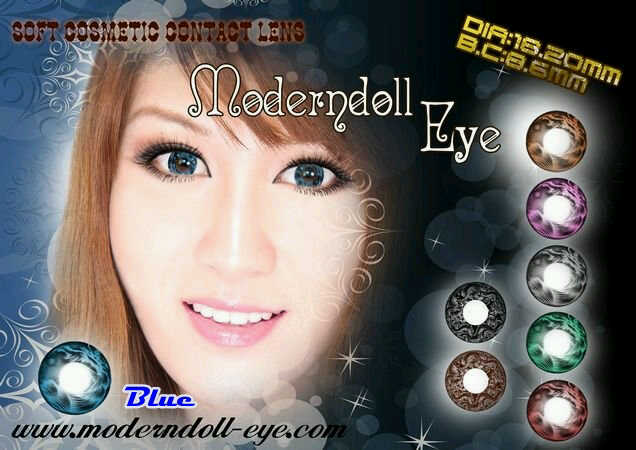 Modern Doll Eye blue 18.2mm