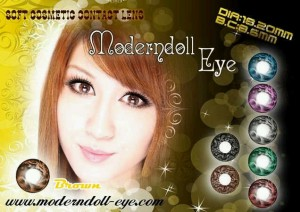 Modern Doll Eye brown 18.2mm