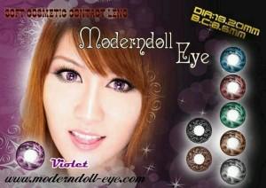 Modern Doll Eye violet 18.2mm