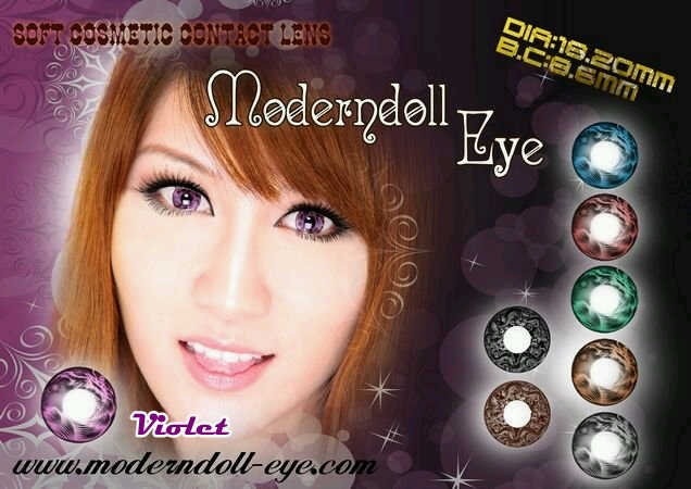 Modern Doll Eye violet 18.2mm
