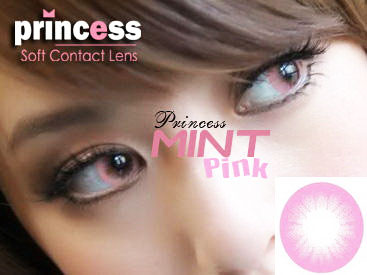 Princess-Mint-Pink softlens