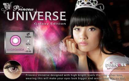 Princess-Universe-Andromeda softlens