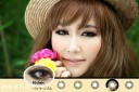 Vivian Eye Pineapple Softlens Brown