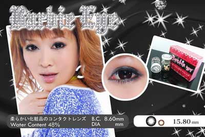 barbie-eye-black softlens
