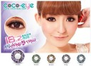 Coco Eye Diamond Softlens 3 Tone Violet