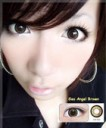 Geo Angel Softlens Brown