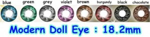 modern doll eye softlens