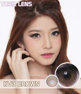 softlens toric_lens_kv3 brown