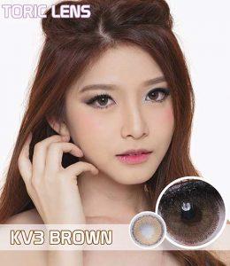 softlens toric_lens_kv3 brown
