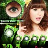 New Pandora Vanilla Shake Softlens Green
