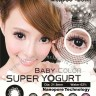 Baby Color Super Yogurt Black Softlens