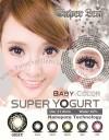 Baby Color Super Yogurt Gray Softlens