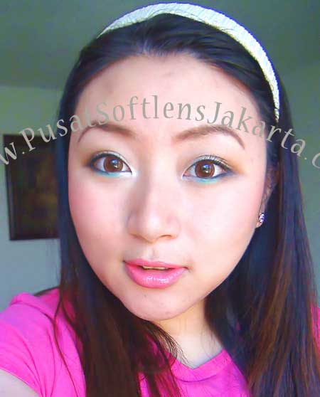 Geo-Big-Grang-Grang-Brown Softlens