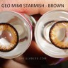 New Geo Princess Mimi Starmish Brown XKP-304 Softlens
