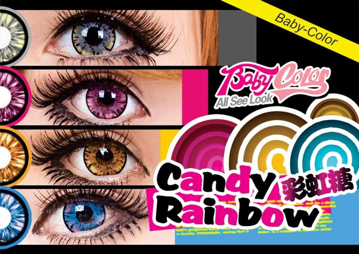 Baby-color-Candy-Rainbow Softlens
