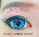 Candy Rainbow Baby Color Softlens Blue