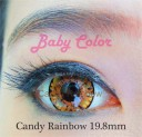 Candy Rainbow Baby Color Softlens Brown