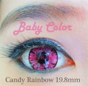 Candy Rainbow Baby Color Softlens Red