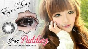 Eyemeny-pudding-gray softlens