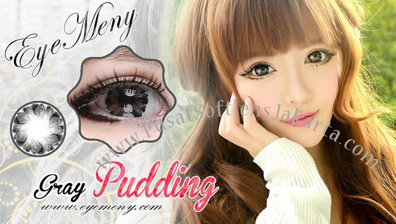 Eyemeny-pudding-gray softlens