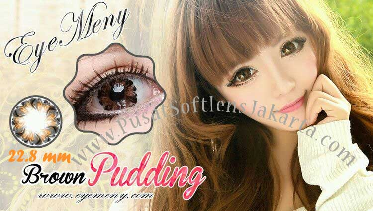 softlens-eyemeny-pudding-brown