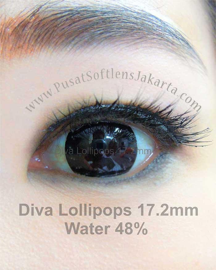 softlens-diva-lollipops-black