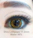 New Diva Lollipops 3D Softlens Brown