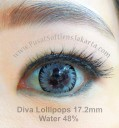 New Diva Lollipops 3D Softlens Gray
