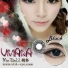 New Viviaina Mondool 19.8mm Black Softlens