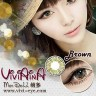 New Viviaina Mondool 19.8mm Brown Softlens