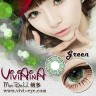 New Viviaina Mondool 19.8mm Green Softlens