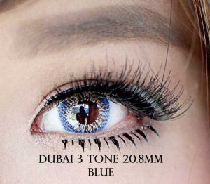 dubai new 3 Tone blue-fokus