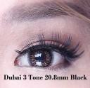 New Dubai 3 Tone  Blackgray Softlens