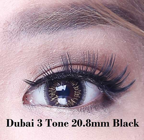 dubai-black-20 gray softlens