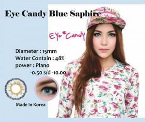Softlens-Eyecandy-Bulle-Saphire-Blue