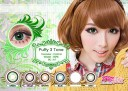 New Puffy 3 tones Green Softlens