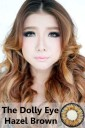 New The Dollyeye Glamour 22.8mm Brown