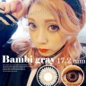 New Kimchi Bambi Softlens 17.2mm Gray