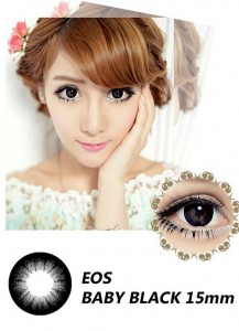 new eos baby-black softlens