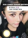 New EOS Candy Sugar Brown Softlens