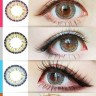 New Eos Cat Eyes 3 Tone Softlens