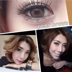 Dreamcon-pear-brown softlens
