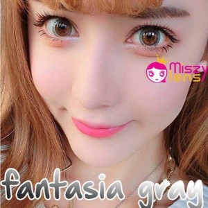 Fantasia-gray dreamcon softlens