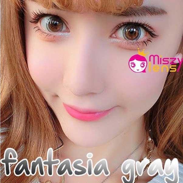 Fantasia-gray dreamcon softlens
