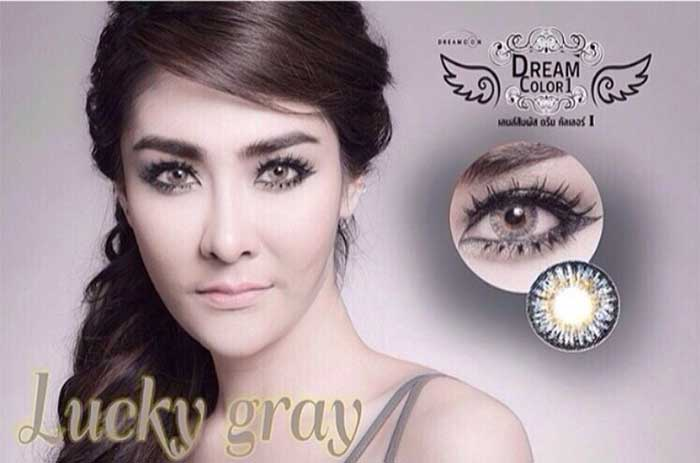 dreamcon Lucky-gray softlens