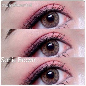 Sonic-brown dreamcon softlens