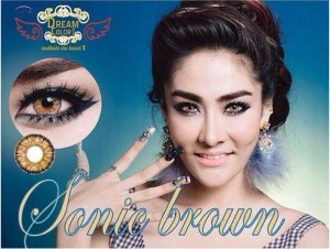 Dreamcon Sonic_brown Softlens