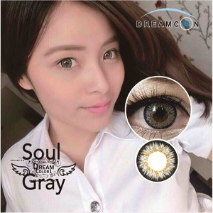 dreamcon color-softlens Soul-Gray
